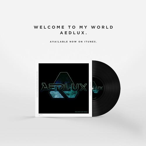 Aedlux vinyl disc