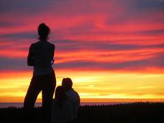watchers (artfilmusic) Tags: sunset watchers