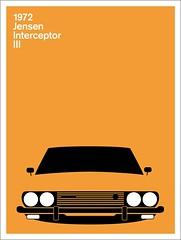 Print (Montague Projects) Tags: design british 1972 jensen interceptor carposter
