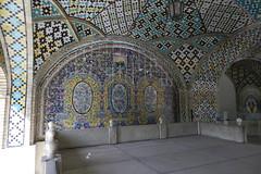 Palacio Museo Golestn  Tehern Irn 25 (Rafael Gomez - http://micamara.es) Tags: museum iran persia palace museo tehran  teheran palacio irn    golestan  tehern golestn