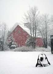 Snow Day (Robert Dennis Photography) Tags: winter snow bell maine kennebunkport capeporpoise