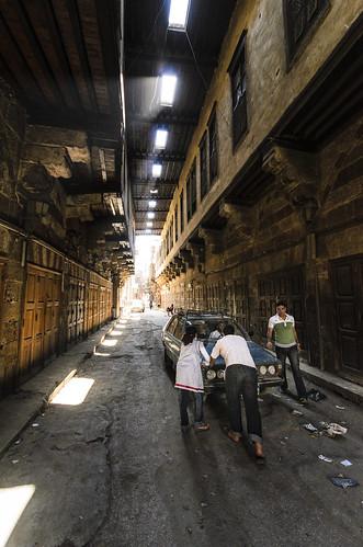 Tentmaker street Cairo