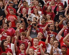 University of Arkansas Football vs Nichols State University (Garagewerks) Tags: college sport football university all state bigma sony sigma arkansas vs sec nichols razorbacks 2014 50500mm f4563 slta77v