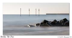 Shoreham Hot Pipes (Fred255 Photography) Tags: uk sea england seascape canon rocks raw westsussex powerstation haida shorehambysea hotpipes llens 10stops canoneos1dsmarkiii leeholder ef70300mmf456lisusm ©fred255photography2014