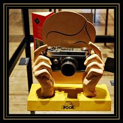 1 - Chalon-sur-Sane Muse Nicphore Nipce - Photographie Prsentoir pour appareil Foca, annes 1950 (melina1965) Tags: camera november museum nikon novembre muse cameras museums bourgogne appareil 2014 publicits advertissement burgondy chalonsursane muses d80 saneetloire photographiques advertissements pubicit photographiqueappareils