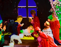 Etsy Plastic Creche Manger (No Talent Bum) Tags: christmas xmas nikon kitsch manger creche babyjesus holyfamily religiouskitsch plastickitsch d5300 nikond5200