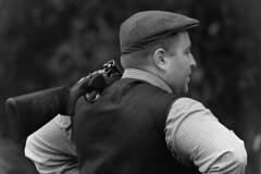 Game Shoot Black and White Version (Kentish Plumber) Tags: uk november england mono countryside blackwhite kent gun southeast shotgun beretta beaters 2014 drivenshoot westkent pheasantshoot redleafshoot
