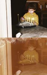 pesslya_nassau_20130407_019_cr2x_RIP_TKv1_st_splice_vert (CARE for Sandy) Tags: charity holiday girl photoshop candles child transformation flames hurricane celebration restoration beforeandafter volunteer damaged photorestoration beforeafter hanukkah menorah hurricanesandy superstormsandy
