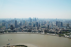 (Silvia Sala) Tags: china city trip travel houses panorama travelling tower tourism modern skyscraper river landscape town asia cityscape shanghai culture metropolis   height modernity orientalpearltower