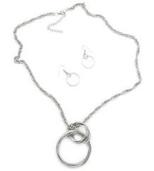 5th Avenue Silver Necklace P2240A-2