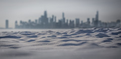 Moments (Philocycler) Tags: winter snow chicago ice canon frozen moments lakemichigan chicagoskyline chicagoist 2015 chicagolakefront chicagoreader montrosepark citybokeh lakemichiganinwinter canon100mm28isl