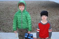 Off to School on a Cold Cold Morning (babyfella2007) Tags: morning school winter jason cold sc hat carson children outside sweater child time little brothers grant south young michelle guys off cap taylor bauer carolina eddie stocking coats fella beaufort lowcountry 2015 montesori monetessori