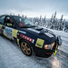 Subaru on the ice road | Sweden