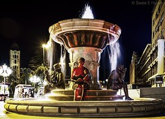 Baby Alexander The Great (Skopje) (1seeu) Tags: canon7d pictureoftheday macedonia fountain nightphotography
