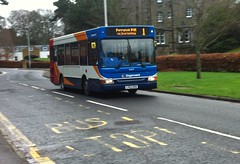 34375 - LV52 HGN (Cammies Transport Photography) Tags: bus castle drive 1 coach fife via dennis dart stagecoach dunfermline in inverkeithing hgn lv52 34375 ferrytoll lv52hgn pampr