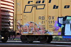 (o texano) Tags: bench graffiti texas houston trains next dts freights nekst dsr a2m benching defthreats adikts