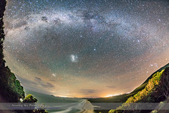 Southern Milky Way over Smoky Cape, Australia (Amazing Sky Photography) Tags: ocean beach australia southerncross nsw sirius orion crux pointers milkyway smokycape canopus southernsky hatheadnationalpark coalsack magellanicclouds
