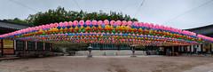 068 (gmouret92) Tags: temple fuji lantern southkorea dmz lampion coredusud buddhabirthday geonbongsa x100t