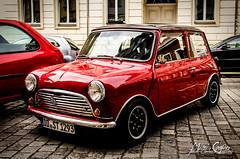 T H E Mini (Onderka) Tags: old uk red car dresden nice oldstyle ride style mini german vehicle minicooper lovely whell readytoride redride ukcars