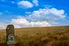 Lyme Park (liamhancox1) Tags: park field grass sign rock stone clouds path walk lyme lymepark cumulo