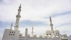 Domes and minarets (Bartholomew K Poonsiri) Tags: white building islam religion uae middleeast wideangle mosque structure abudhabi sheikhzayedgrandmosque sonyepz1650mmf3556oss sonyilce6000