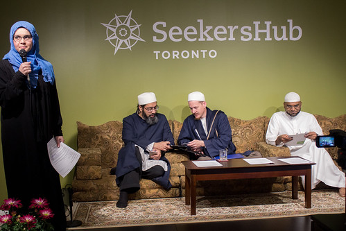 "Shaykh Yahya Rhodus at SeekersHub, Toronto and Seminar Series: Worship, Coffee and The Meaning of Life • <a style=""font-size:0.8em;"" href=""http://www.flickr.com/photos/88425658@N03/26772166301/"" target=""_blank"">View on Flickr</a>"