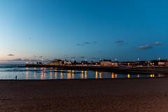 Anochecer. Playa de San Lorenzo. Gijn. (David A.L.) Tags: gijn asturias playa playadesanlorenzo