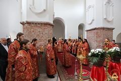 23. Paschal Prayer Service in Svyatogorsk / Пасхальный молебен в соборном храме г. Святогорска