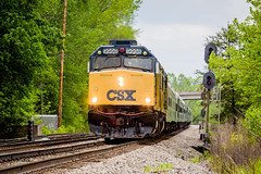 CSX OCS on the KD: Corbin (Peyton Gupton) Tags: railroad train sub rail railway ocs kd corbin csx csxt