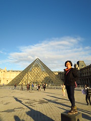 IMG_1064 (irischao) Tags: trip travel vacation paris france museum musedulouvre 2016 pyramidedulouvre