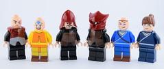 Lego AVATAR full collection (Alex THELEGOFAN) Tags: lego avatar aang prince zuko sokka katara firebender fire nation soldier the last airbender legography minifigs minifig minifigure minifigures minifigurine
