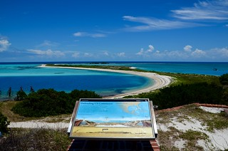 View from atop Fort Jefferson - Dry Tortugas