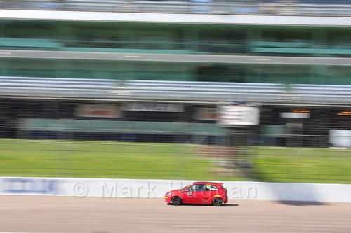 Christopher Mackenzie in Fiesta Junior Racing during the BRSCC Weekend at Rockingham, May 2016
