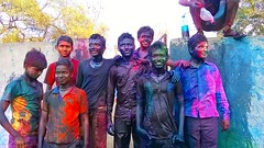 Rangapanchami ( ) Tags: india festival photography march spring colours 11 maharashtra holi akshay 2015 pawar rangpanchami tuljapur pawars tuljabhavani 2k15 tuljaur rangapanchimi badnamkatta