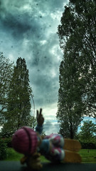 18/05/2016 day 269 (shaye.photo@yahoo.fr) Tags: paris weather cloudy rainy figurine miss nuage meteo iphone project365 365days 500px 365photos iphonephoto missmeteo ifttt iphone6s