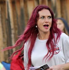Red Hair (arbyreed) Tags: arbyreed parade summerfest oremsummerfestparade red redhair windy windblown utahcountyutah