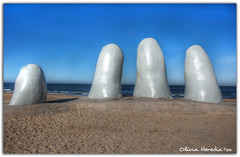 Embrace (Olivia Heredia) Tags: winter beach southamerica uruguay fingers playa dedos invierno hdr highdynamicrange southpole maldonado puntadeleste puntaballena sudamrica amricadelsur playabrava tonemapped tonemapping 1exp oliviaheredia uruguaynatural oliviaherediaotero