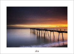 Don't Wait For The Perfect Moment ... Take The Moment And Make It Perfect ... (Maxwell Campbell) Tags: longexposure seascape sunrise landscape bay pier jetty australia qld queensland hervey