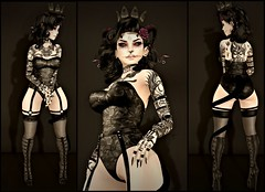 ImYourMonsterCollage (shirley Uborstein) Tags: life woman 3 black sexy fashion tattoo female dark real blog suicide evil style fair mandala sl empire second glam tres su re gurls chic emotions unborn affair scars suicidal the amitie arise aesthetica bossie dirtystories scrarey hairology {aii} qweenb {chemical princess}