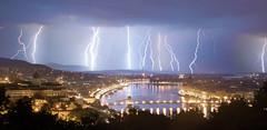 Storm over Budapest (domahidy.farkas) Tags: city storm night hungary cityscape budapest bolt lightning duna thunder danube
