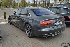 Audi S8 D4 (Dominik Bytner) Tags: sports sport photography grey nikon parking poland polska automotive german audi polarized luxury limousine d4 s8 carspotting inowroclaw d3200 inowrocaw