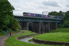 Carr Mill Viaduct (Mister Oy) Tags: bridge train railway viaduct sthelens davegreen dmu carrmilldam oyphotos oyphotos