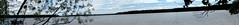Big Arbor Vitae Lake Panorama (BenG94) Tags: panorama lake wisconsin canon northwoods arborvitae 60d canon60d bigarborvitaelake