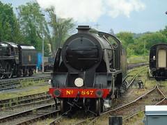 SR Maunsell No847 Class S15 4-6-0 Bluebell Railway (Jun  18 2016) 10 (Alan Hughes Photos) Tags: uksteam bluebellrailway track no847