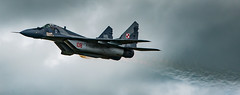 "Polish Airforce - Mikoyan MiG-29A ""Fulcrum"" (Aleem Yousaf) Tags: polish airforce mikoyan mig29a fulcrum royal international air tattoo plane spotting airshow fairford swindon military riat 2016 gloucestershire nikon d800 300mm prime overcast cloudy"
