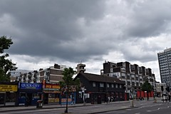 DSC_6593 Shoreditch London Before the Storm Cloudy Sky Old Street Fire Station (photographer695) Tags: shoreditch london before storm cloudy sky old street fire station