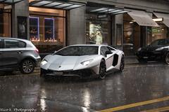 SuperVeloce LP750-4 (Nico K. Photography) Tags: rain silver switzerland zrich heavy lamborghini rare matte supercars superveloce aventador lp7504 nicokphotography