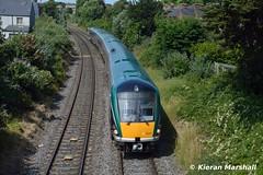 22041 passes Claude Road, 19/7/16 (hurricanemk1c) Tags: dublin irish train rail railway trains railways irishrail rok rotem drumcondra 2016 icr drivertraining iarnrd 22000 22041 ireann iarnrdireann clauderoad 4pce