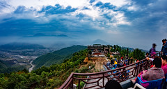 Sunrise view point, Sarangkot, Pokhara, Nepal (CamelKW) Tags: nepal sunrise viewpoint pokhara sarangkot 2016 everestpanoram