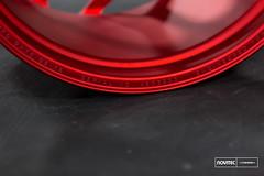 Vossen Forged- NV Series NV1 - Scarlett Red - 45039 -  Vossen Wheels 2016 - 1009 (VossenWheels) Tags: nv forged madeinusa novitec nv1 madeinmiami forgedwheels vossenforged scarlettred vossenforgedwheels vossenwheels2016 novitecxvossen